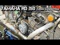Yamaha RD 350 Engine Dismantling / Rockfort Motor works
