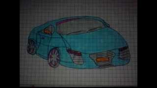 auta rysunki cars drawing ustroń