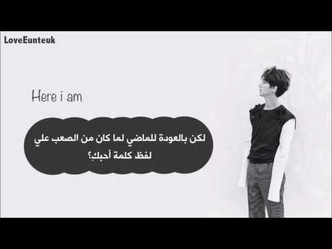 Yesung - Here i am {Arabic Sub}