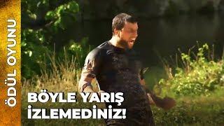 SURVİVOR'IN EFSANELEŞEN PARKURU! 2. Ödül Oyunu   Survivor Ünlüler Gönüllüler