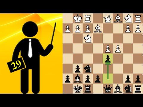 Standard chess game #29 - Gruenfeld Defense: Three Knights, Burille variation