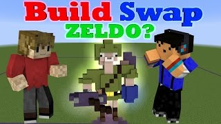 BUILD SWAP! ZELDO!? - Minecraft minigame /w Taurtis