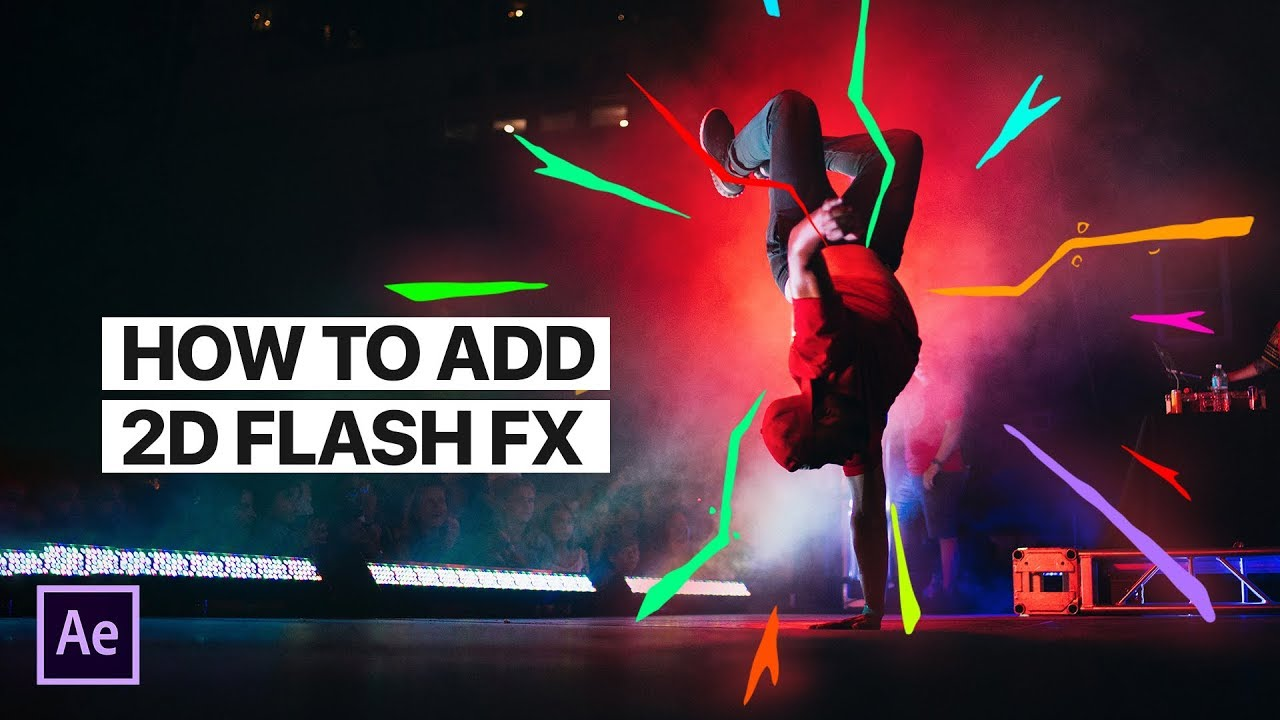 How to Add 2D Flash FX to Videos with MotionElements - Unlimited Subscription