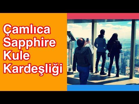 Çamlıca Sapphire Kule Kardeşliği | Gezi Belgesel | VLOG | Ertan Turhan