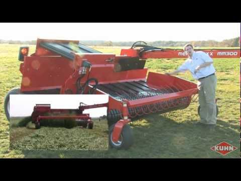 Kuhn MM 300 Merge Maxx Review with Ryan Pearcy