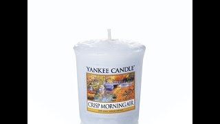 Yankee Candle NEW FALL 2015 CRISP MORNING AIR PREVIEW SCENT REVIEW!