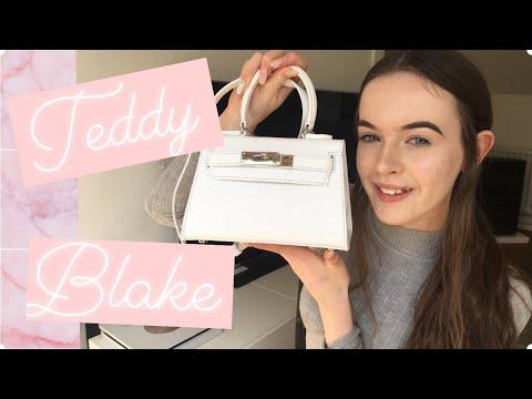 "Teddy Blake Designer Bag Review - Eva Stampatto 8"" ♡   Summer Xo"