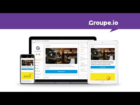 Meet Groupe.io -  The secure employee communication app