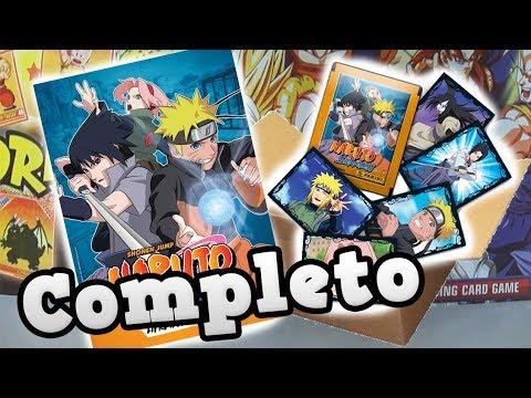 Completando o Álbum do Naruto Shippuden