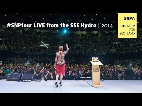 #SNPtour LIVE from the SSE Hydro