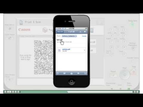 Print Document From Your Iphone to your Canon Printer