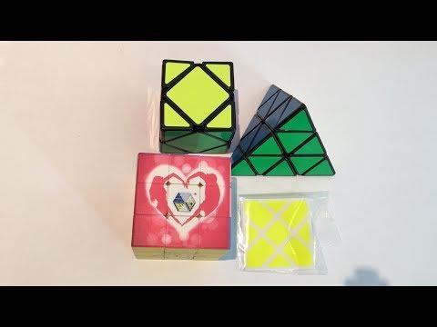 YJ GuanLong Pyraminx Unboxing! +More!