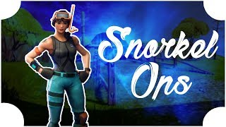 Snorkel Ops Skin! (Fortnite Battle Royale Moments)