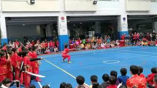 沙田小學中國人日表演