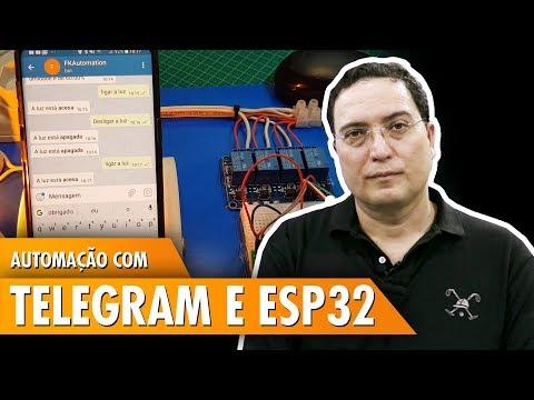 Automação com Telegram e ESP32