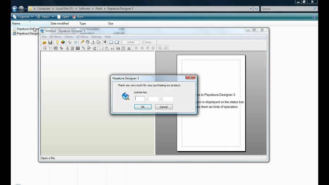 Pepakura Designer 3.0.8 serial key or number