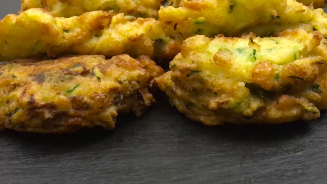 Frittelle di zucchine e mozzarella ricetta veloce youtube