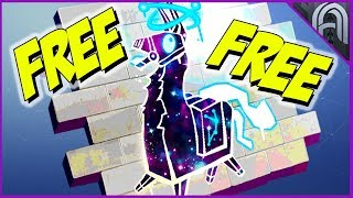How To Get the Free Galaxy Llama Spray in Fortnite!