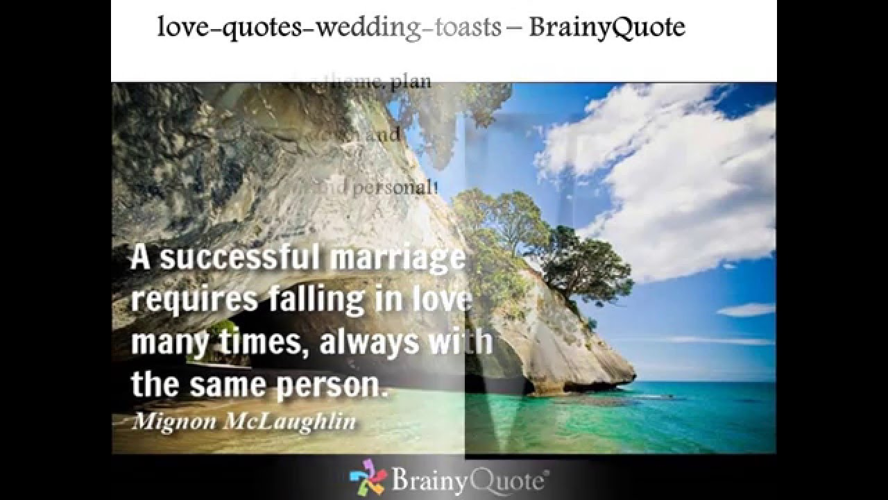 Best wedding toast quotes youtube best wedding toast quotes junglespirit Images