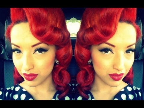How to Do a Vintage Pin up Hairstyles