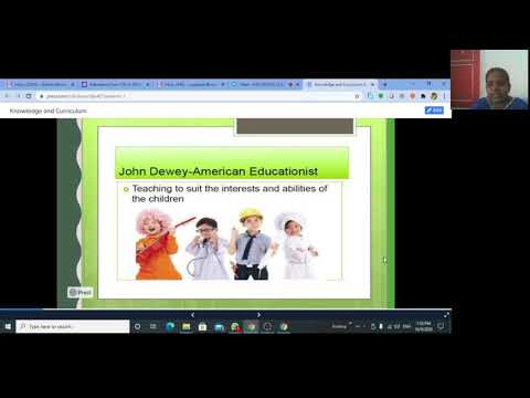 Student Centered Curriculum Lecture Video -2