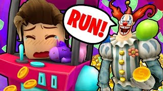 Don't steal from a clown... Roblox Flee the Facility!