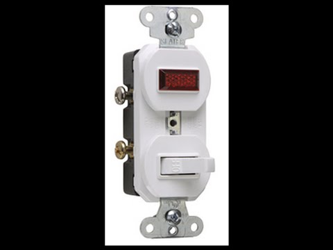 hqdefault pass & seymour 692 switch pilot light youtube 3 way switch with pilot light wiring diagram at creativeand.co