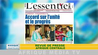 KIOSQUE AFRICAIN REVUE DE PRESSE GLOBAL DU 22 12 2017