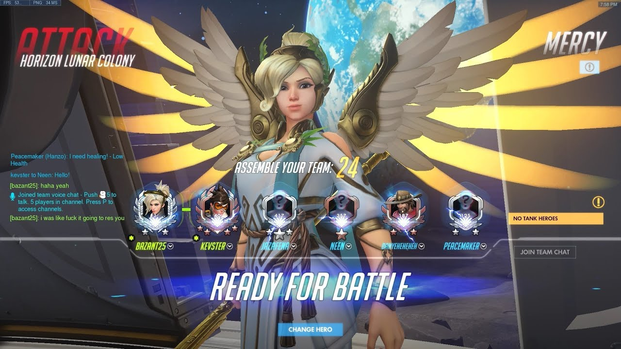 mercy guardian angel sensitivity