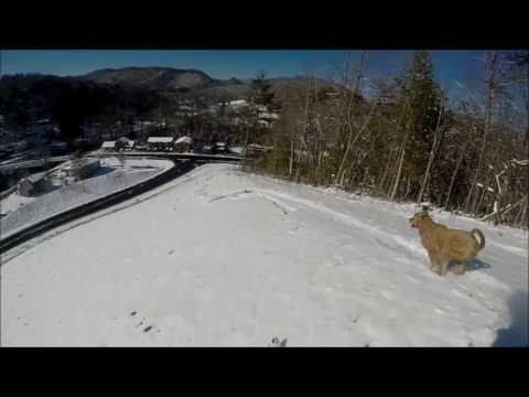 SKIING Cullowhee, NC Skiing 2017