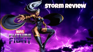 Storm Review - Marvel Future Fight | Shadowland Floor 8 Solo vs The New Avengers Rumble