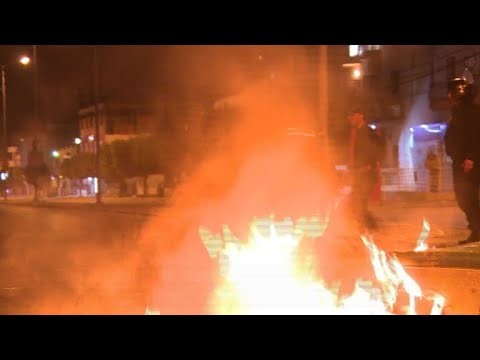 200 arrested, dozens hurt in Tunisia unrest