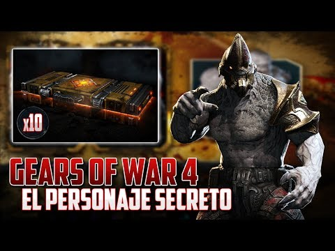 Gears of War 4   ¿Hay un Personaje Secreto en los Packs?