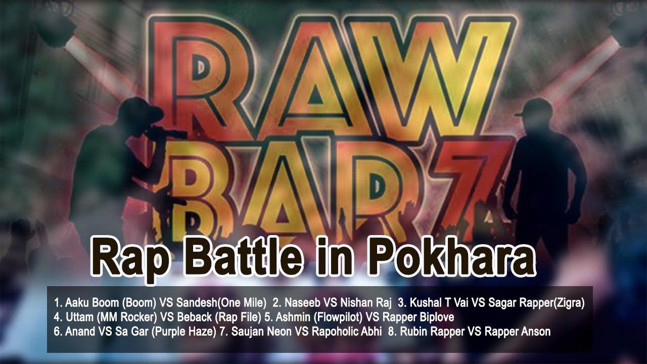 Raw Barz by Rap Battle 2017 in Pokhara -New Rap Battle || Ramailo छ TV