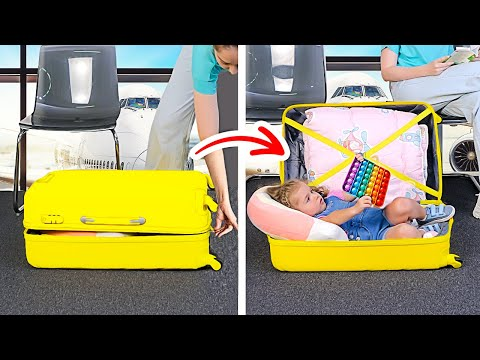 TRAVELING WITH KIDS IS FUN! Smart Parenting Hacks For A Family Trip