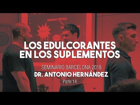 LOS EDULCORANTES EN LOS SUPLEMENTOS |  Seminario Dr. Antonio Hernández Barcelona Parte 14