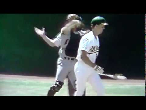 Rookie Mark McGwire Meets Rookie Les Straker
