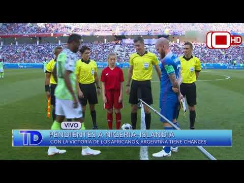 Móvil en vivo: los marplatenses, pendientes del resultado Nigeria-Islandia