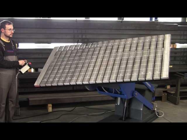 Förster Dreh-Hub-Kipp-Tisch - Manipulator - Schweißpositionierer