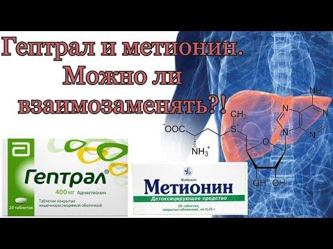 Гептрал или Метионин?! Гепатопротекторы. Часть 1