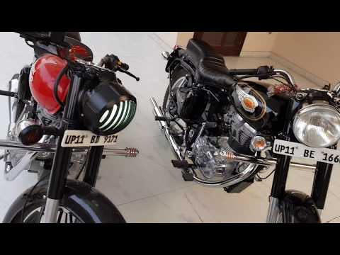 Royal Enfield CLASSIC 350 vs STANDARD 350 in bs4 engine......
