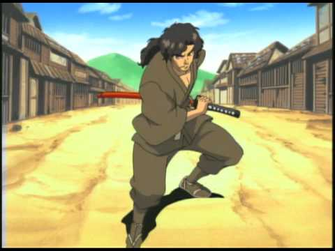 NINJA SCROLL - Movie Trailer 2003 Music by Kitaro and Peas