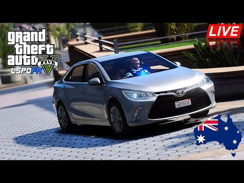 GTA 5 - NSW Police Mod - Unmarked Toyota Camry City Patrol (Play GTA 5 as a cop mod for PC) #OZGTA