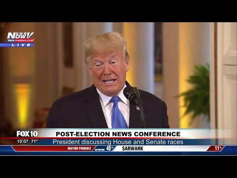 PRESIDENT TRUMP TAKES ON THE MEDIA: Full News Conference 11/7/18