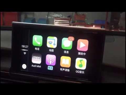 Apple CarPlay for Audi Original Screen Upgrade MMI