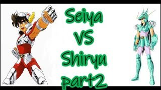 Cavalieri dello zodiaco - Saint Seiya 1vs1 - Seiya VS Shiryu - PART 2 ITA