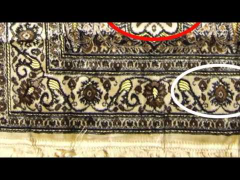 Stop Using Prayer Mats - Muslim Islam - Hidden Creatures, Abstract Faces, Satanic Occult Symbols
