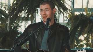 Watch Nick Jonas Slay A Sexy Acoustic Cover Of His New Single Close