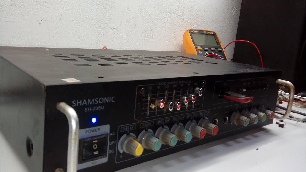 Download Manutenção do amplificador Shansonic