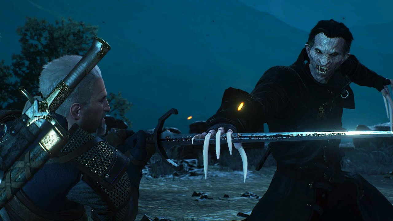The Witcher 3: Blood and Wine - Final Boss Fight (Defeat Dettlaff ...